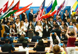 Youth Delegates to the Human Rights Summit