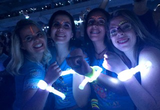 LED bracelets Light Up Everyone on Coldplay's Tour with 360 Degrees of Light
