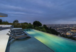 Luxury Home Rental Outdoor Pool With View