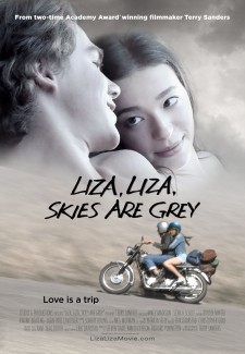 LIZA, LIZA, SKIES ARE GREY Official Poster Art