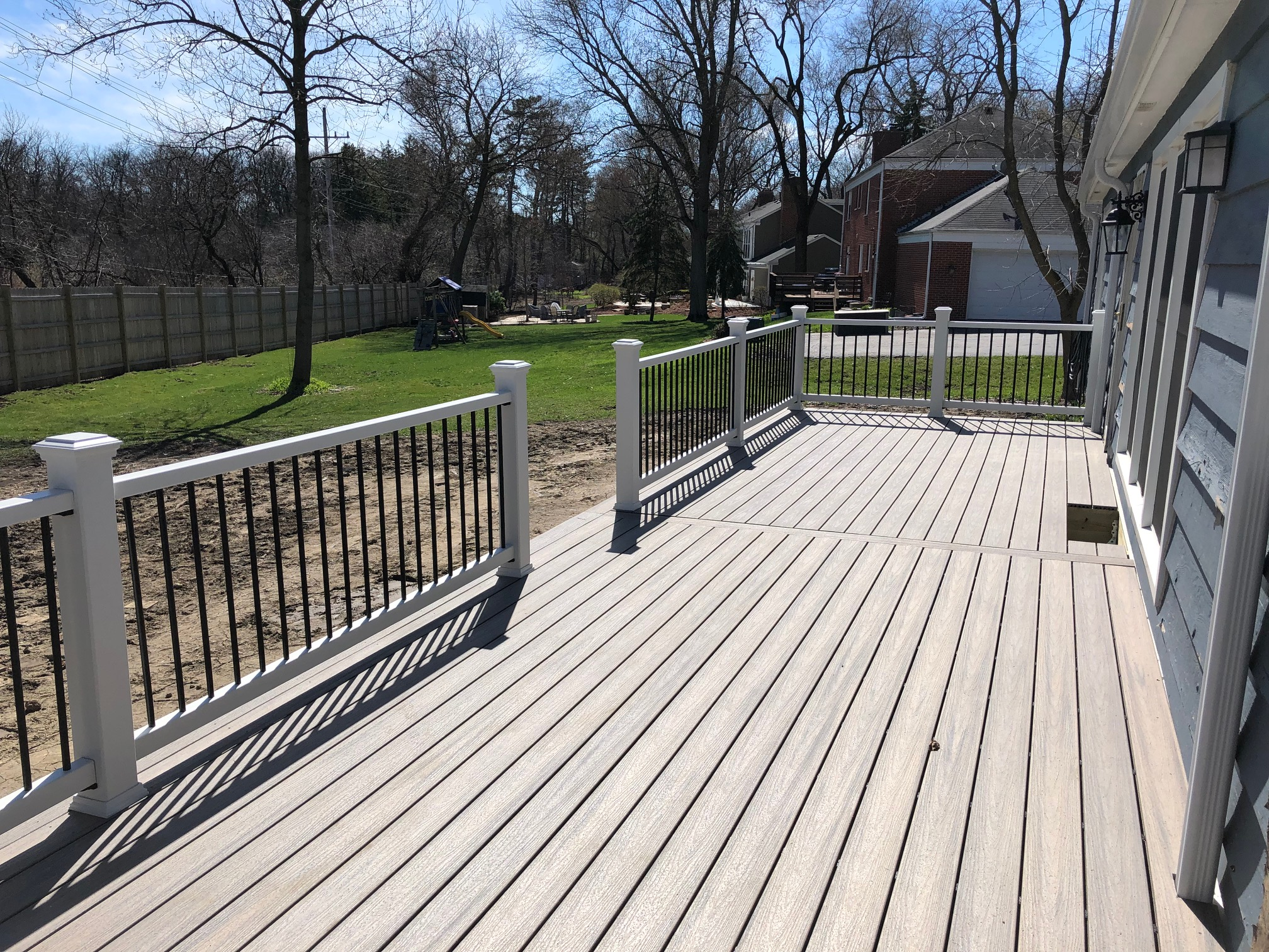 Deck Builder Near Me Platinum Decking Barrington Trex