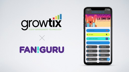 GrowTix Adds Fan Guru as Mobile App Integration for Comic & Anime Events
