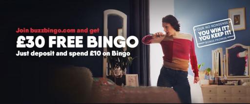 New Buzz Bingo Bonus Code Giving Players £30 When They Deposit £10 Posted on BingoViews.com