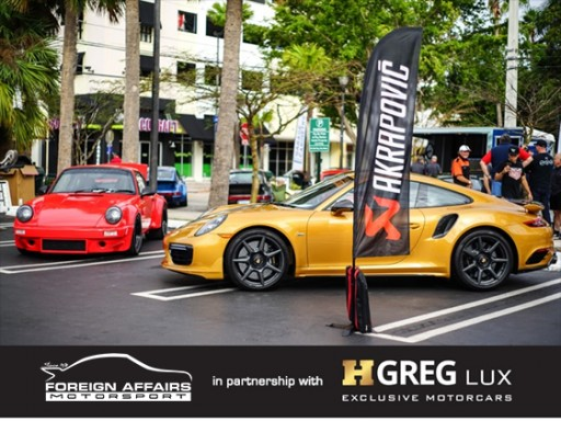 Foreign Affairs Motorsport and HGREG Lux to Dazzle Fans With Porsche Dream Cars at 2020 Miami DRT