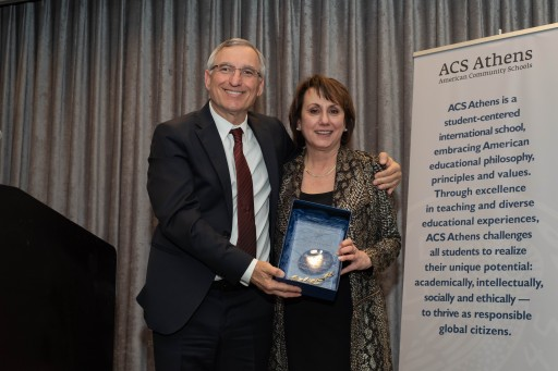 Serving Humanity Through Serving the Law: ACS Athens Alumna Stephanie E. Joannides, Former Senior Superior Court Judge of Alaska, Receives School's Lifetime Achievement Award