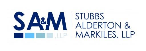 Stubbs Alderton & Markiles, LLP Names New Partner and Senior Counsel