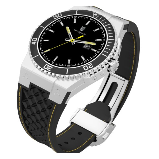 Joseph Fahys & Co. Introduces the Most Advanced Smartwatch That Charges With Kinetic Energy