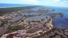 Matagorda Island, Texas (Photo by: Lee Smith, Texas Parks and Wildlife)