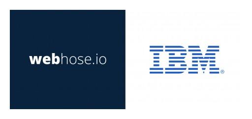Webhose Data Powers IBM's Watson Discovery News in a New Strategic Partnership