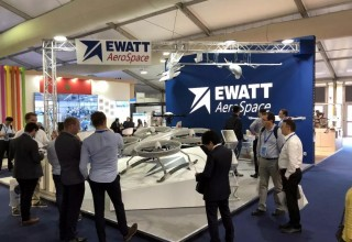 Ewatt Aerospace booth