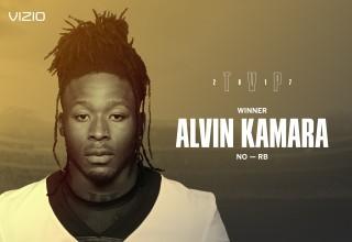 Alvin Kamara 2017 VIZIO TVP