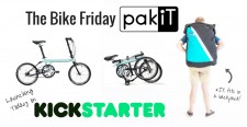 The pakiT folding city bike