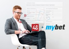 mybet integrated to 4Stop's anti-fraud technology