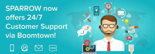 SPARROW Provides 24/7/365 Dual-Language Customer Support Service to Better Assist All-Size Clients