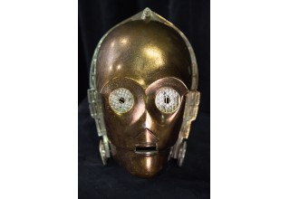 C-3PO head used on Star Wars: The Empire Strikes Back