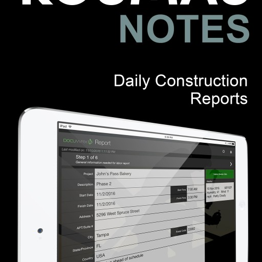 DocuWrx Releases New Application for Daily Construction Reports