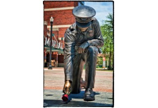 Statue Honoring Fallen Police Officers - Donation from Finker Frenkel Legacy Foundation