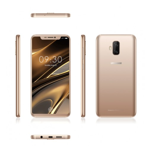 DOOGEE V Exposed: The World's First Flexible Full-Screen Smartphone With In-Display Fingerprint Sensor