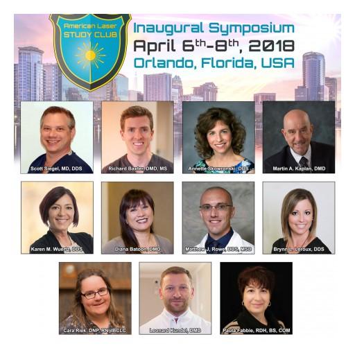 Announcing Laser Frenectomy Session Speakers - ALSC Inaugural Symposium, April 6-8 in Orlando