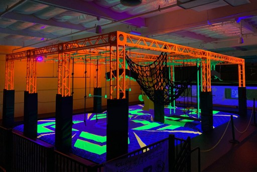 Rockin' Jump Vacaville Retrofits Trampoline Park With Glow-in-the-Dark Attractions