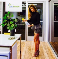 BudTrader Promotional Marketing and Event Manager Vanessa