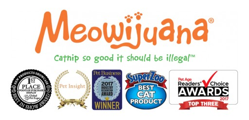 Meowijuana®, a Natural Catnip Company, Introduces Fun, Refillable Line of Cat Toys