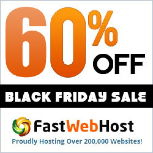 FastWebHost Huge Black Friday Web Hosting Sale With Free Domain Name
