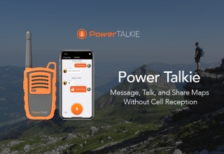 Message, Talk & Share Maps Without Cell Reception
