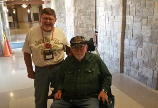 Lawton Ft. Sill Veterans Center Donation Buzz and Earl