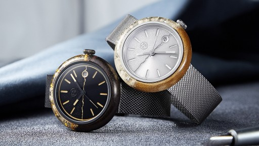 FLAWSOME - World's First Wabi-Sabi Handcrafted Automatic Watch Launches on Kickstarter