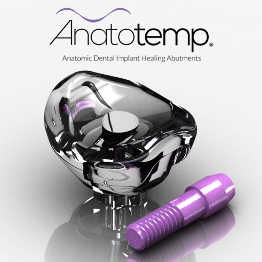 Anatotemp® Launches 4Side Connection to Its Family of Anatomic Dental Implant Healing Abutments