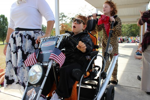 Special Needs Parade Brings Joy to Students, Families