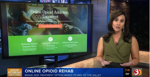 Recovery Delivered Honored to Be the Focus of CBS 5 Segment on Opioid Use Treatment