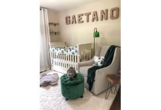 Rustic Nursery Letters