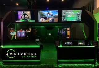 Omniverse VR ARENA - Front view