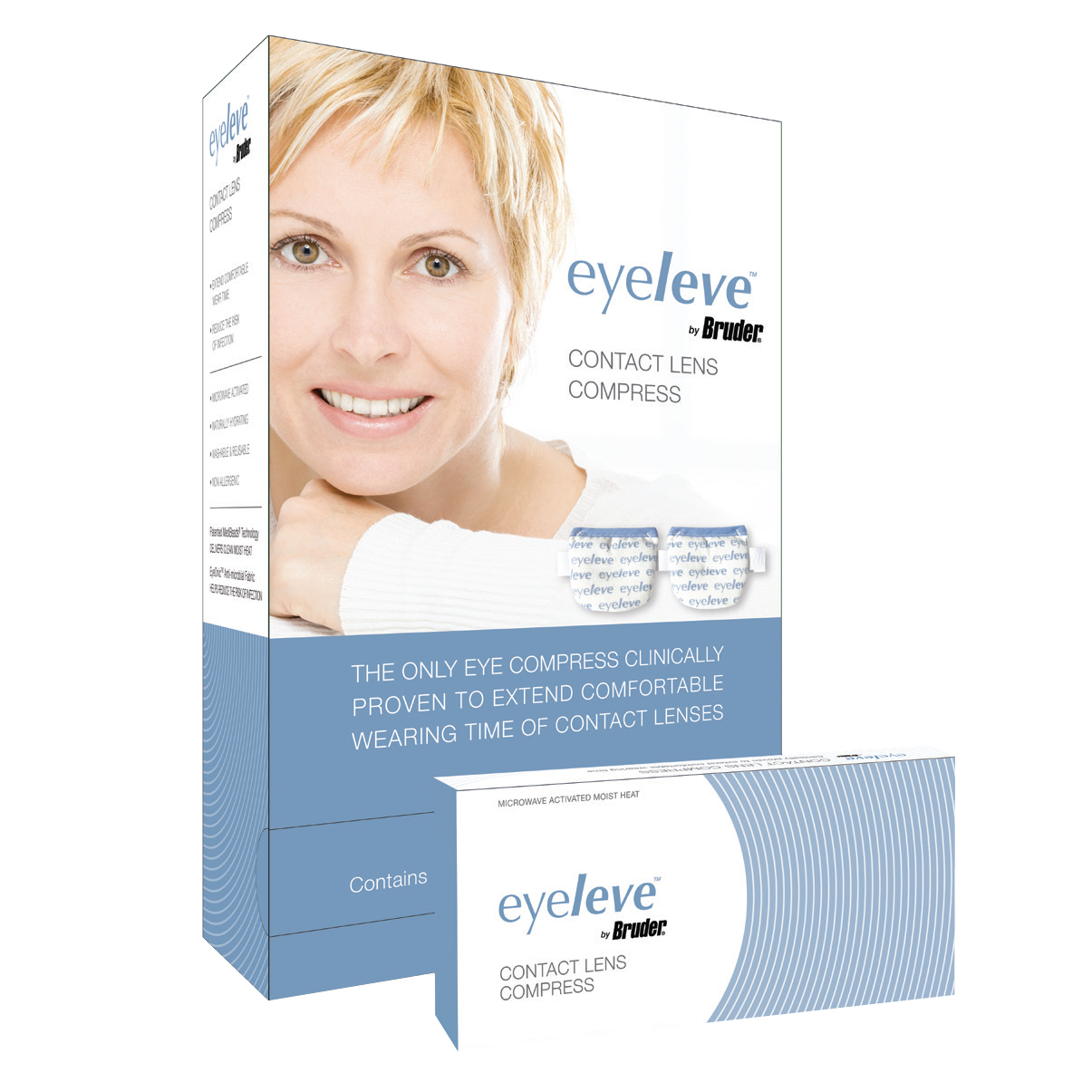 Bruder Announces Eyeleve™ Contact Lens Compress