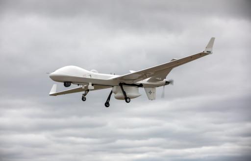 GA-ASI SeaGuardian Flies From UK to the Netherlands