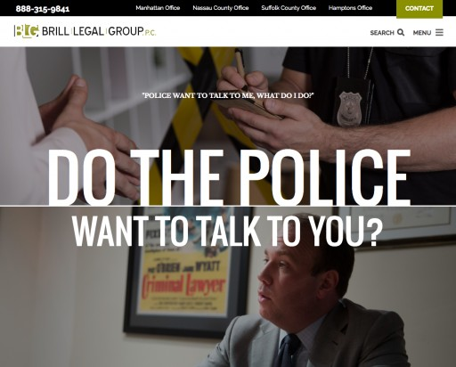Custom Legal Marketing Wins Gold MarCom Award for Brill Legal Group Website