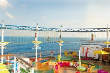 Carnival Cruise Line Sky Trail Ropes Course
