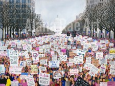 Women's March Painting