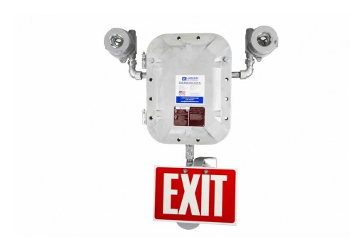 Larson Electronics Releases Explosion Proof Emergency System, 90Min Runtime, 120/277V, W/ Exit Sign
