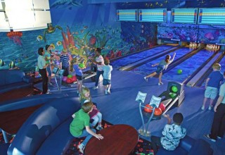 Indoor Bowling Lanes at Children's Learning Adventure