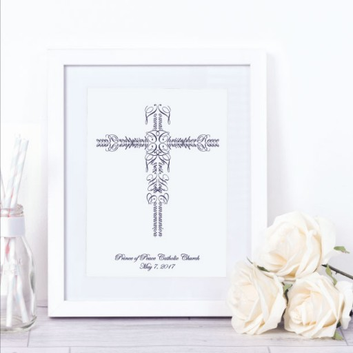 Name Crosses Expands Product Line for First Communion Keepsakes