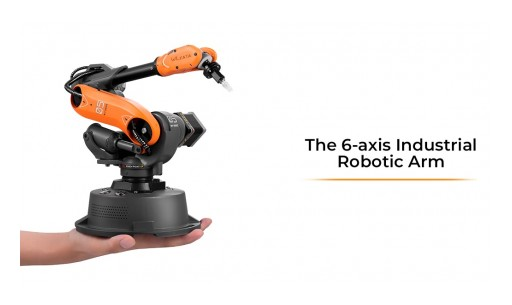 Mirobot - 6-Axis Mini-Industrial Robot Arm Now Available to the Public