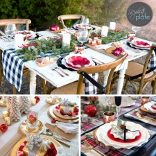 Featured tablescapes from blogger partners.