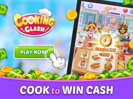 Dish Out Delectable Food With the New Cooking Clash Mobile Game