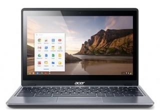 Acer Chromebook C720P-2625 Touch (4GB) Black