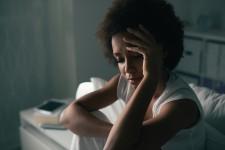Sad Woman At Home