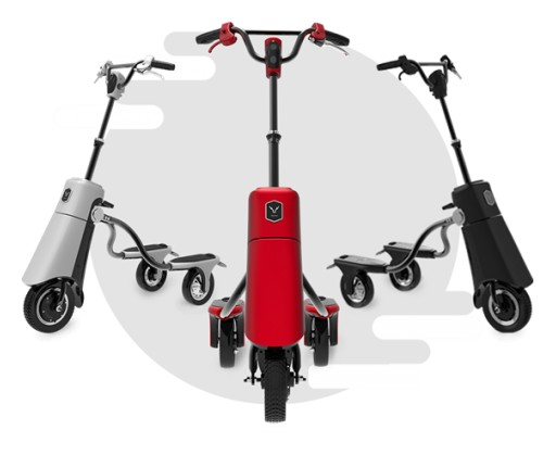 Stand-Up Electric Scooter Alllu VehiGo Provides a Safe and Eye-Popping Urban Riding Experience