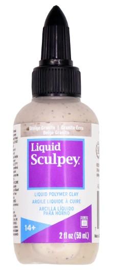 Liquid Sculpey Greige Granite